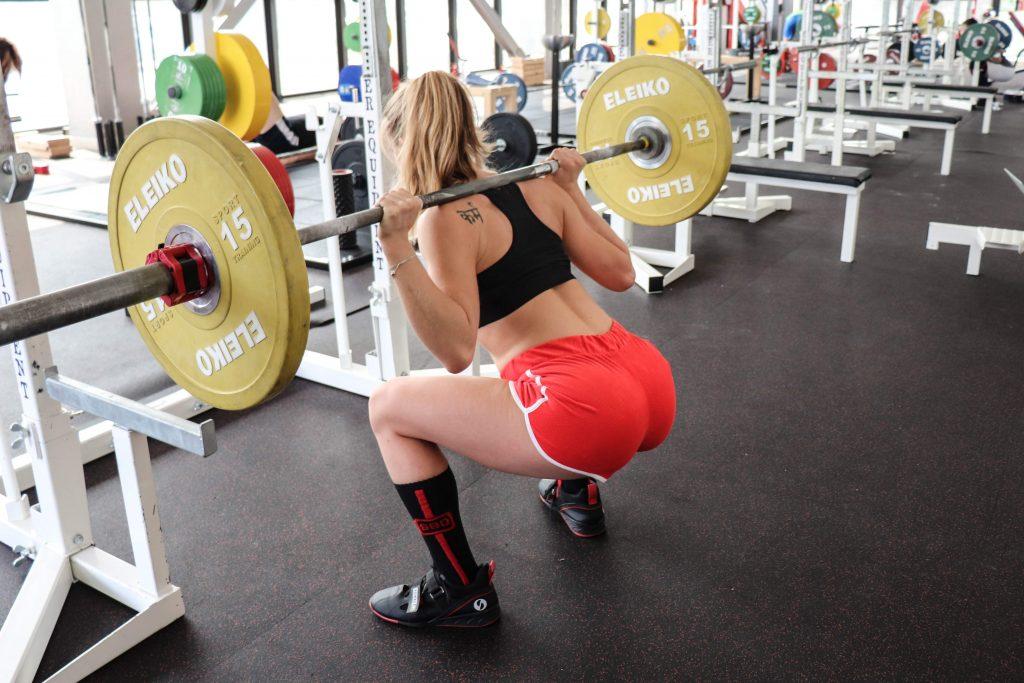 mantenimento delle curve fisiologiche durante lo squat