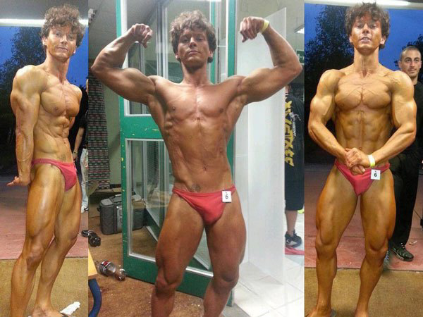 Mattia Zanutto - Natural Bodybuilder
