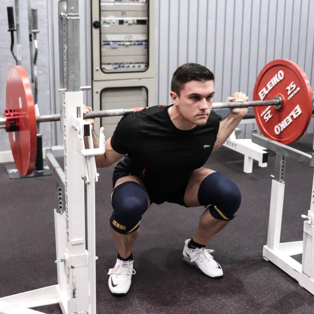 Squat muscoli coinvolti: fase di accosciata