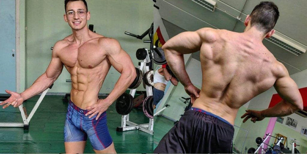Men's Physique: condizione gara