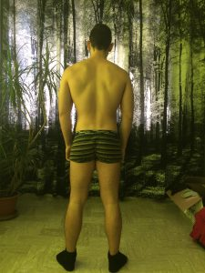 Men's Physique: condizione iniziale