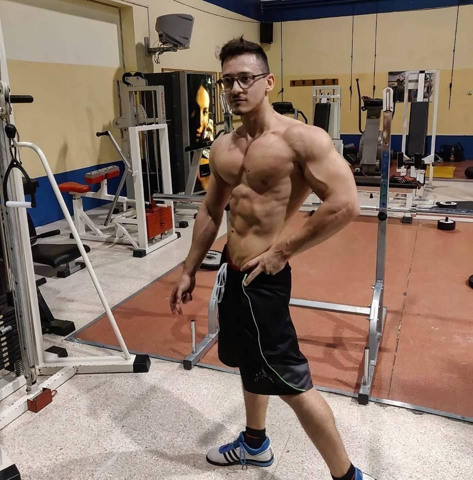 Men's Physique: condizione pre-gara