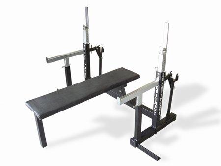 panca piana - bench press-rack